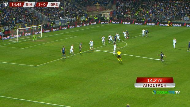 Βοσνία - Ελλάδα: Ο Πιάνιτς έκλεψε επτά μέτρα στο 2-0